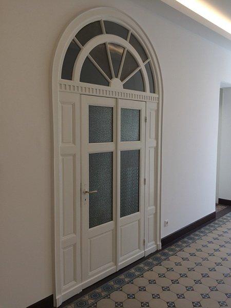 Restaurierte Zimmertür